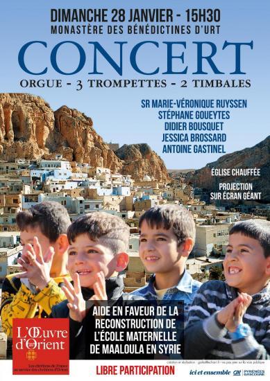 Concert chez les Bénédictines