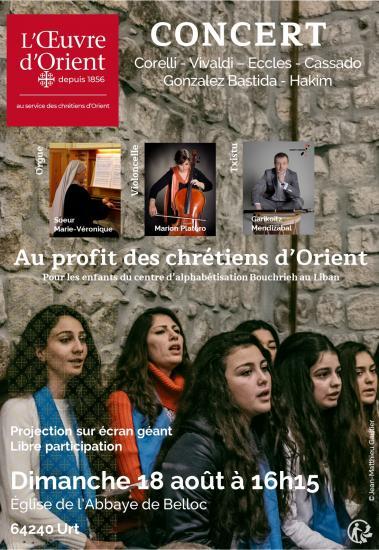 Concert à Belloc