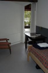 Une chambre de l'hôtellerie intérieure.